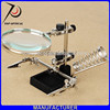 Third Helping Hand Desktop Magnifying Glass For Repairing With soldering stand