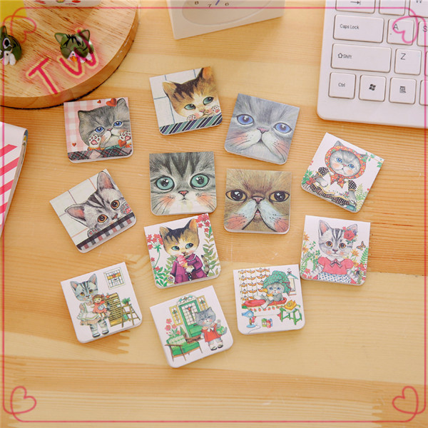 Popular <strong>crafts</strong> cheap kids stationery fancy bookmarks for books 2017 new arrival animal design paper bookmark small moq
