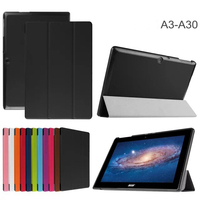 Business Style leather Bookcases tablet cover case For Acer Iconia Tab A3-A30 10.1inch