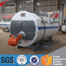 Excellent Quality Perfect Service Heating 2Ton Diesel Oil Fired Steam Generator/ 2000KG Steam Boiler With High Efficiency 95%