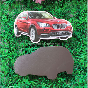 promotional paper fridge magnet /car shape advertisement fridge magnet