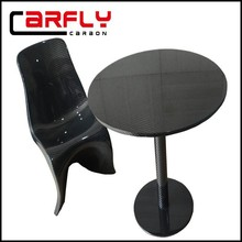 Carbon fiber round bar table