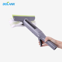 Dolanx multifunctional glass window cleaning wiper blade with spray nozzle