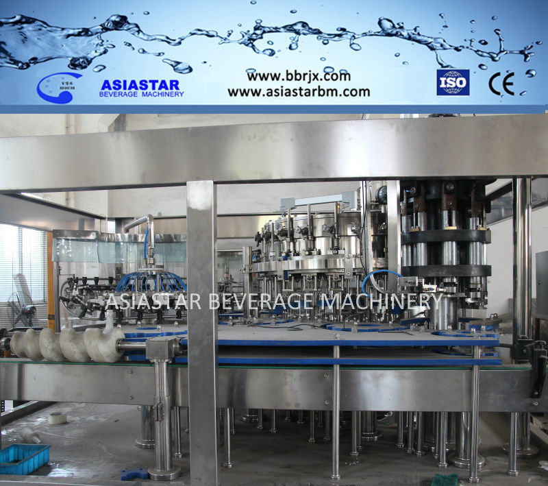 Auto Glass bottled soft drink/wine filling machine