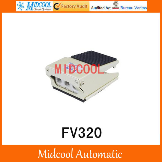 Manual power alloy material medium pressure Foot Operated Air Valve FV320