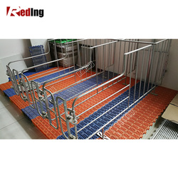 Durable Hog Cages Swine Stall Sow Breeding Pen Pig Gestation Crates