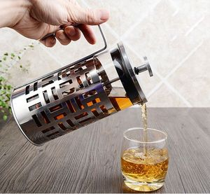 customized 350ml 600ml 1000ml High quality french press iced cold brew coffee maker