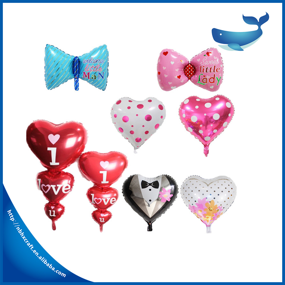 Factory price heart metallic balloon stand for sale