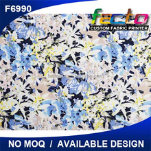hot sale digital print Soft Silky Faille fabric, facto print for wholesale