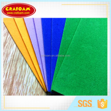 Can be customized environmental protection EVA Flocking eva foam sheet for handicrafts with best price