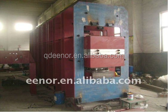Electric Rubber Mould Press/Plate Curing Press With All sorts of Structure / hydraulic press for rubber vulcanization