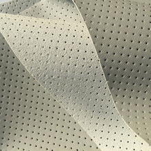 Perforated Faux PU Leather for Car Seat Covers, Car Seat Renew PU Coated Microfiber