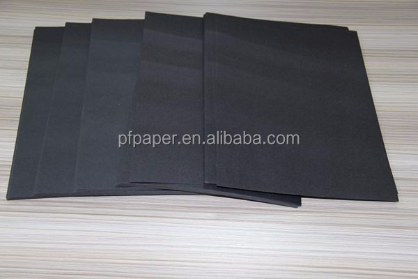 110g fadeless black paper rolls supply