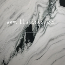 A quality Panda white marble floor tile cheap acrylic Foshan price