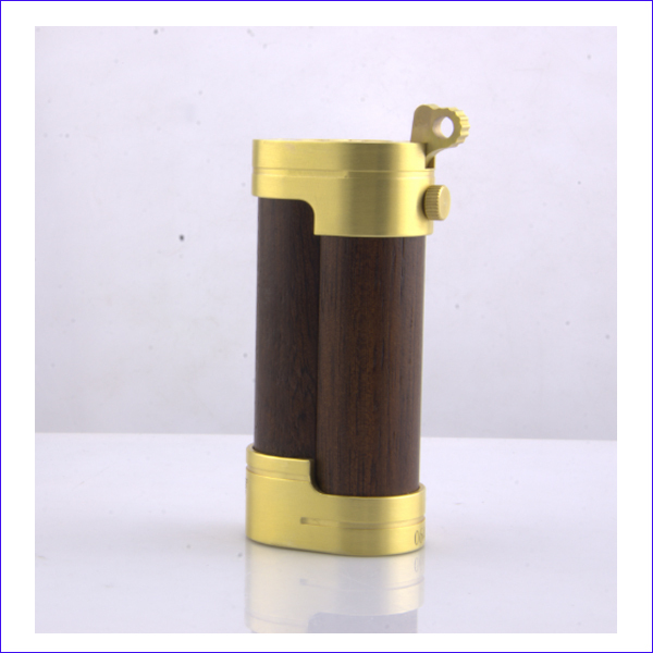 2015 newest wooden vaporizer pen kamagong wood slug mod clone