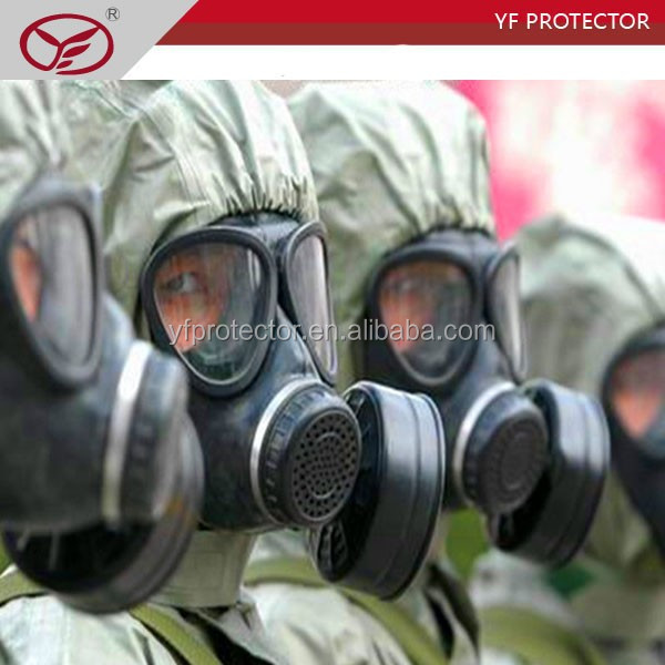 NBC MILITARY ANTI RIOT GAS MASK WITH FILTER FOR FULL FACE HELMET