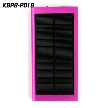 8000mAh solar charger cell phone with factory price