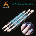 Elegant crystal engraving pen nail art dotting tools the best gift for Christmans
