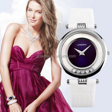 Genuine Leather women high quality best quartz watches with Sapphire glass