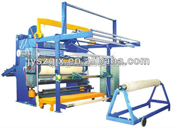 china fine and new narrow fabric calender machine