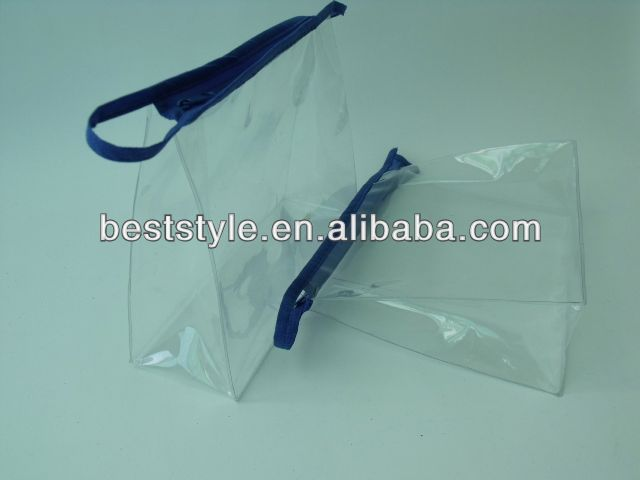 hot sale zippers plastic bags sweaters plastic