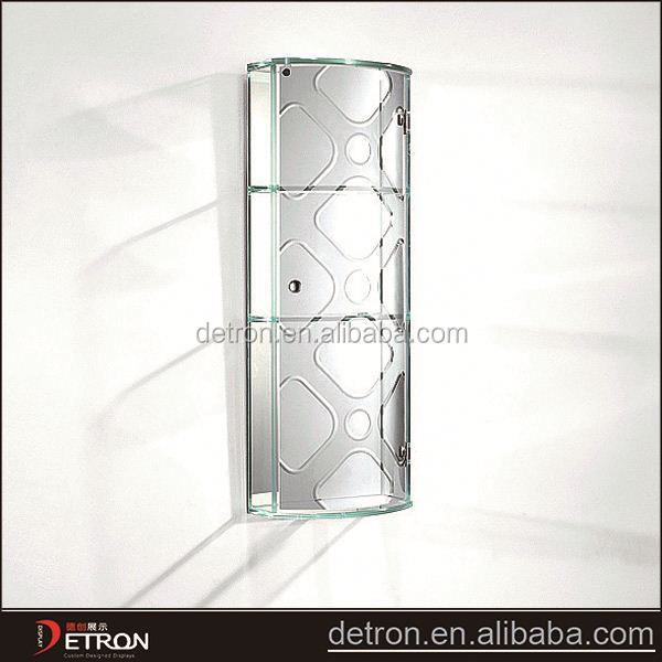 2015 New arrival living room glass wall cabinet