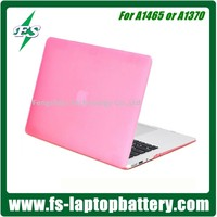 Soft-Skin Smooth Finish Soft-Touch Plastic Hard Case Cover for Macbook Air 11'' (Model: A1370/A1465), Pink