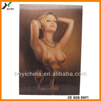 3d picture, 3d painting, 3d poster/sex girl 3d poster