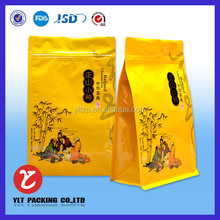Wholesale High barrier custom printed aluminum foil empty tea bag with string