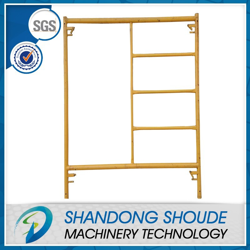 Factory Price H Frame Scaffolding Frame Steel Pin Lock Scaffolding