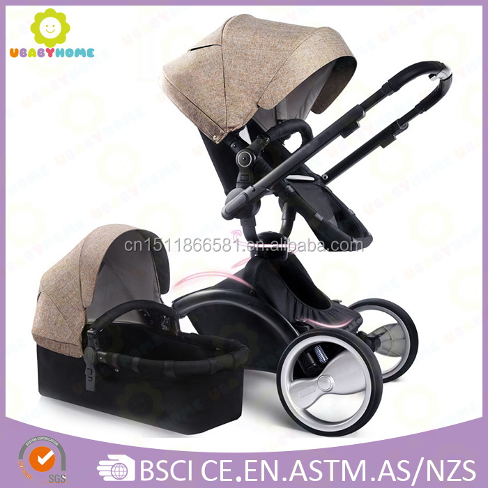 Best Selling Baby Stroller with Orbit 360-degree Rotation Wheels and Removable Foot Cover for Winter