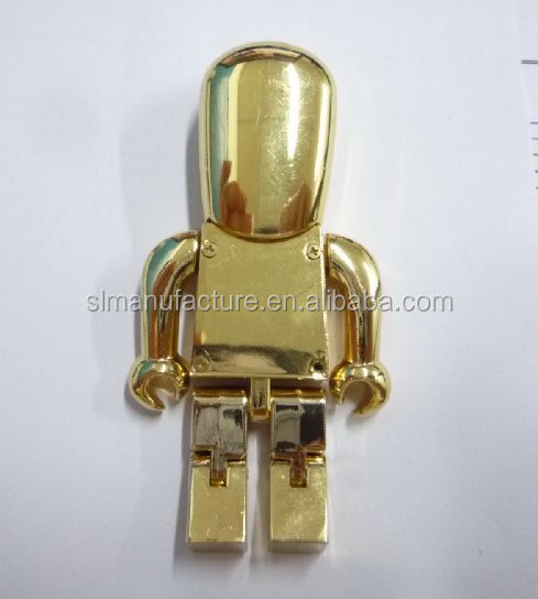 New design robot man usb novel gifts robot usb fancy usb flash drive
