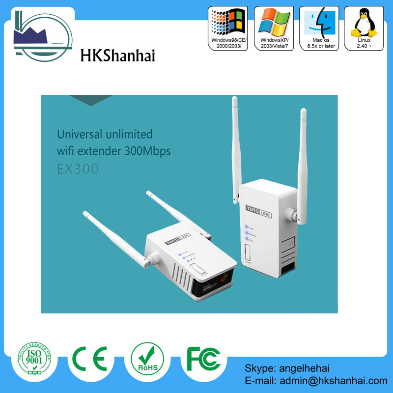 Hot offer universal Wi-Fi Extender/300Mbps wireless wifi extender