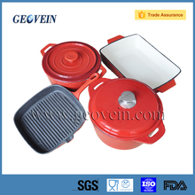2016 Cooking Enamel Coated Cast Iron Cookware