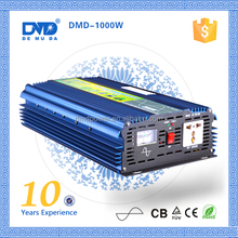 Off grid high frequency dc to ac pure sine wave 12vdc to 230vac converter 1000w