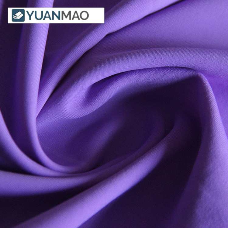 Many Colors Available High Elastic 80 Nylon 20 Spandex Matte Fabric