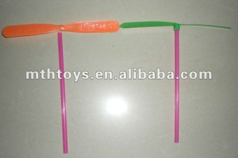 colorful bamboo artificial dragonfly