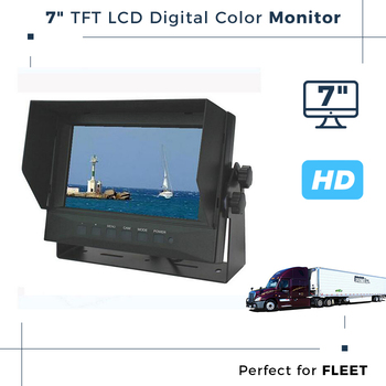 7 inch LCD Monitor Video Player For Trailer
