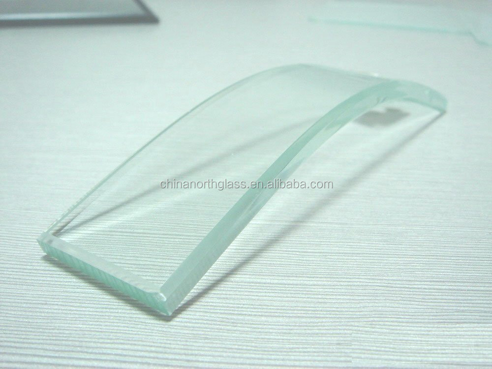 3-19mm toughened glass with chamfered edgs for building glass