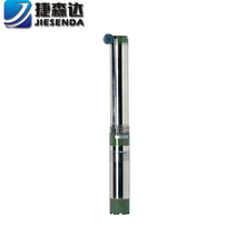 QJD 3hp deep well low volume submersible water pump 3 inch submersible pumps