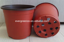 thermoform plastic flower pot, PP material type planter pot