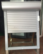 Aluminium Windows Shelter Electrically Operated Window Roller Shutters