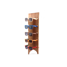 Sun glasses Display Stand Glasses holder bamboo sunglasses stand
