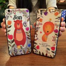 Animal cartoon 3D print cell phone smartphone case cover for iPhone 7 7p 6 6s plus