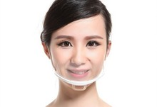 Factory Supply High Quality Sanitary Plastic Mask Mouth Cover for Permanent Makeup