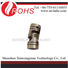 Precision cross universal coupling universal coupling universal joint connecting shaft section