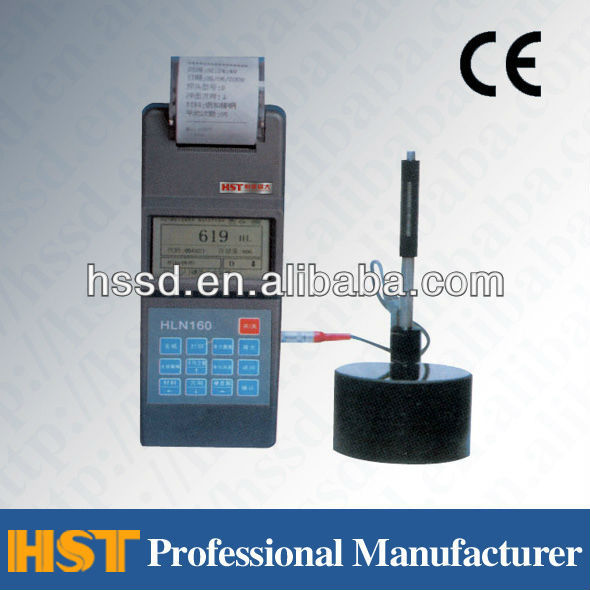 HLN160 high precision Leeb Digital Portable Metal Hardness Tester/hardness testing machine/durometer