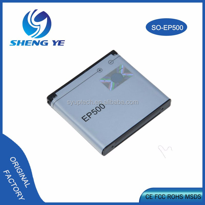 EP500 Li-ion Phone Battery for Sony Ericsson ST17I ST15I SK17I WT18I X8 U5I E15i wt18i wt19i U8