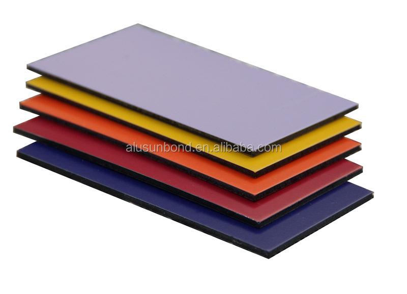 Surface Applied Aluminum Composite Panel : Smooth surface pe coating aluminum composite panel acp
