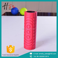 pink foam roller massage with PVC/ABS color tube